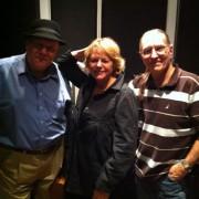 In the studio with Warren Vache, Dave Darlington, engineer