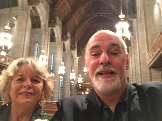 with Jeremy Kahn, Fourth Presbyterian Church concert, Chicago