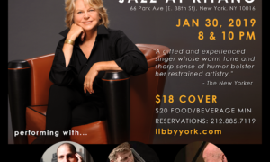 Libby York Jazz at Kitano