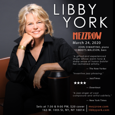 Libby York @ Mezzrow 3/24/20