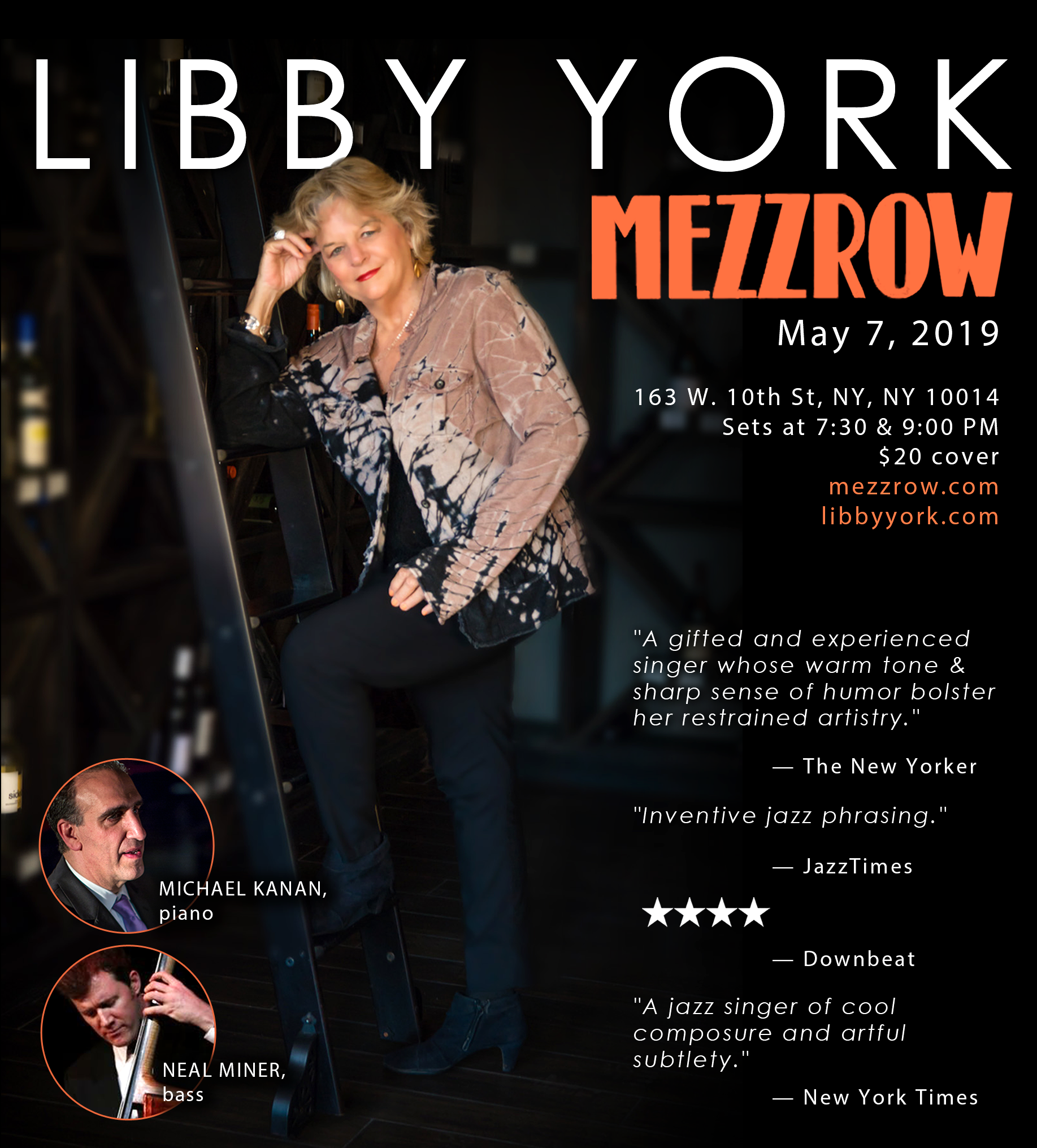 Libby York @ Mezzrow May 7